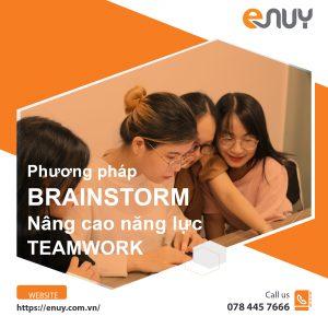 Brainstorm hiệu quả năng cao năng lực teamwork